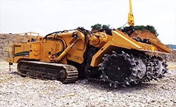 Open cut mining machine