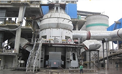 Cement vertical mill